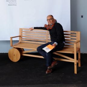 Olivier Lafuente, Conduite de projets d'architecture intérieure, de scénographie, de signalétique et d'identité visuelle